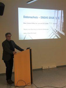 DSGVO Vortrag