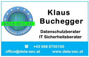 Kontakt Klaus Buchegger